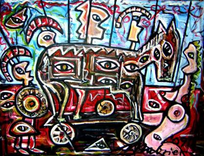 Troja von MABRIER Paul