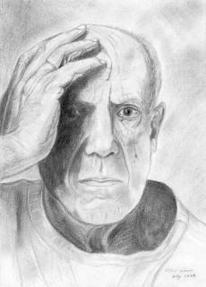 Pablo Picasso von WEY Heinz-Werner