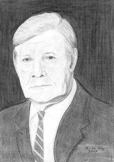 Helmut Schmidt von Heinz-Werner Wey
