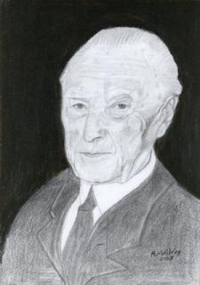 Konrad Adenauer von WEY Heinz-Werner