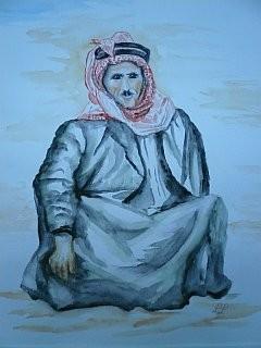 Beduine von Lothar Lubawski