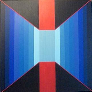 blaue Perspektive von Anita Seiler