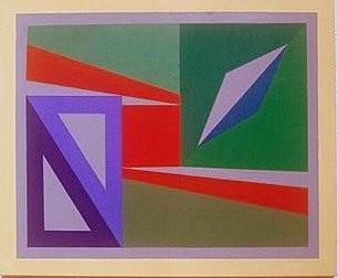 geometrische Spielerei von Anita Seiler