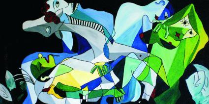 Raub der Sabinerinnen2 von Norbert Reinhold Altmann