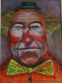 Clown von Ludwig Fleidl