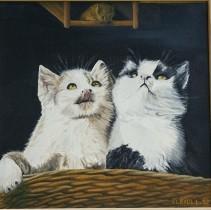 Katz & Maus von FLEIDL Ludwig