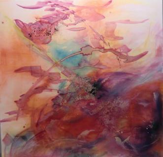 Bild in Rot von Gisela Winkler