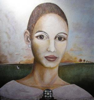 Bildnis einer Frau von GORR Hans-Jürgen
