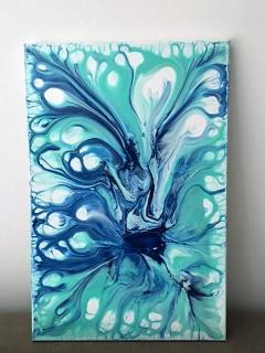 Turquoise Shine von PAULITSCH Elisabeth