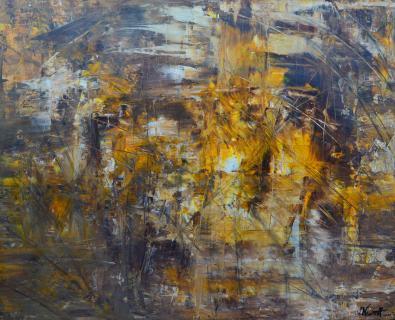 abstraktes Licht von NISSIMOFF Julia