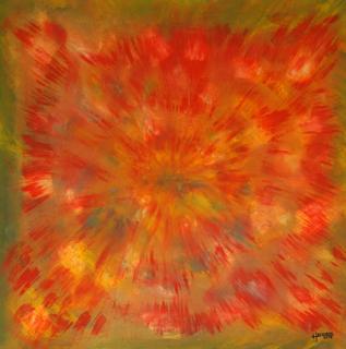 Sternenexplosion von ABRAHAM Karl