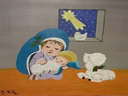 Weihnachten von FILZ Birgitt
