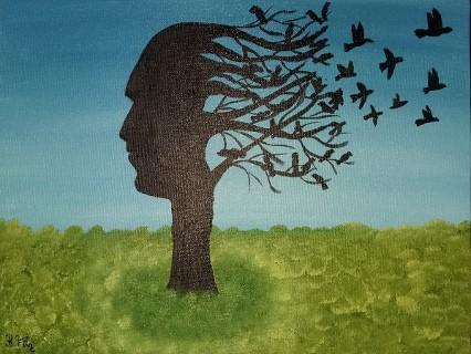 Lebensbaum von Birgitt Filz