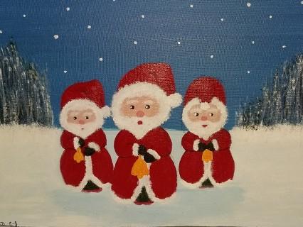 Weihnachtswichtel von Birgitt Filz