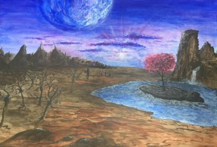 Fremder Planet von Martin Jordan