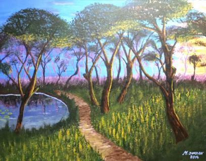 Landschaft von JORDAN Martin