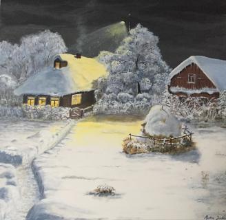 Winterlandschaft von Martin Jordan