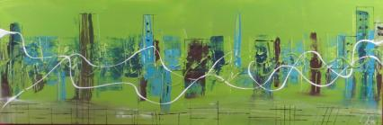 Grüne Stadt von Gabriele