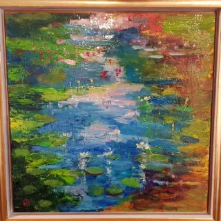 water lilies von HAJEK Robert