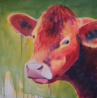 Bunte Kuh von HAPP Doris