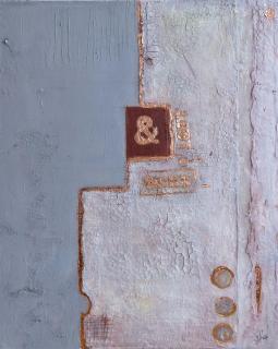 """Acryl Gemälde – """"Gewitter"""" Unikat handge von HOFER Gabriele"""
