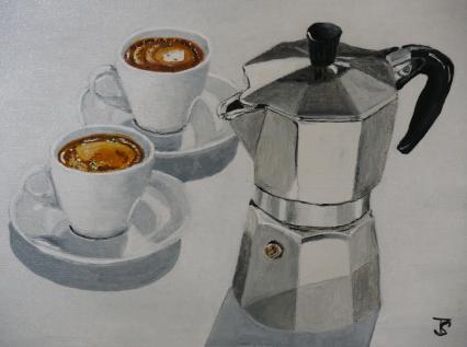 Doppelter Espresso von SVOBODA Thomas