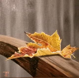Herbstblatt von SVOBODA Thomas