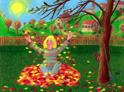 Herbstlaub von AMEND-KäSTNER Christiane