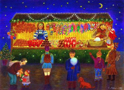 Weihnachtsstand von Christiane Amend-Kästner