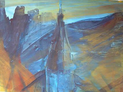 Stefanusblau von Marion Gietl