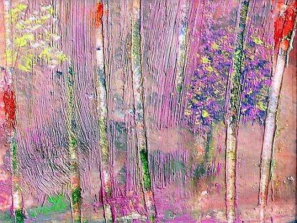 Birkenwald von Christine Nyirady