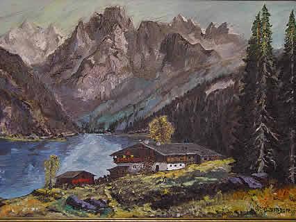 Bauernhof am See von UNTERTROGER Franz
