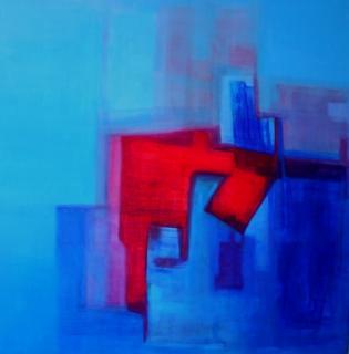 Quadrat I von Gisela Zimmermann